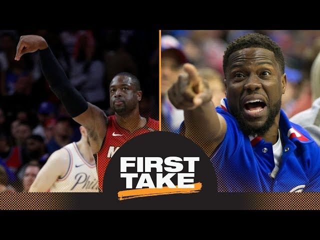 Stephen A.: Kevin Hart 'got his feelings hurt' by Dwyane Wade vs. 76ers | First Take | ESPN