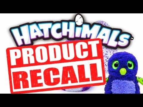 HATCHIMALS RECALLED!!! DO NOT OPEN!!!