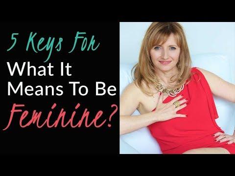 What makes women feminine