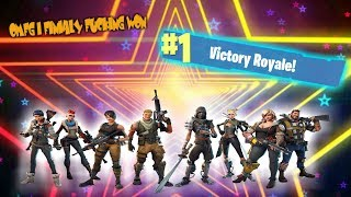 OMFG I FINALLY FUCKING WON!!! - Fortnite Funny Moments Part 1