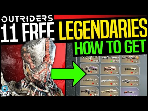Outriders: HOW TO GET 11 FREE LEGENDARIES – DO THIS NOW – HOW TO GET FAST & EASY LEGENDARY LOOT