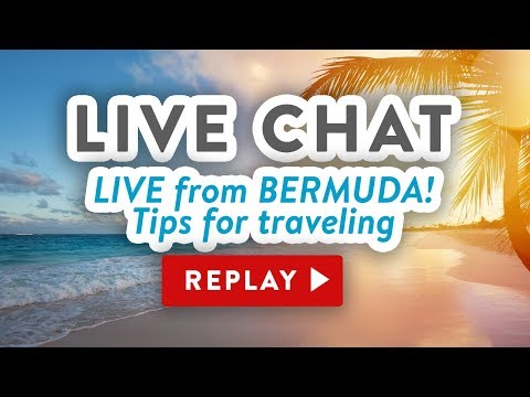 🔴 LIVE CHAT from Bermuda - Tips for traveling with craft supplies