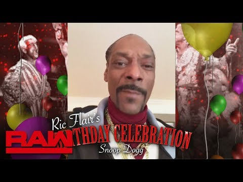 """Snoop Dogg, """"Stone Cold"""" and Maria Menounos send Ric Flair birthday wishes: Raw, Feb. 25, 2019"""