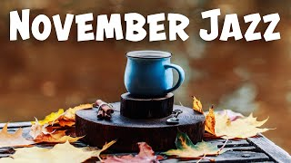 October JAZZ Playlist - Fall Smooth Sax JAZZ For Work, Study: Chill Out JAZZ Music