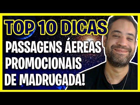 PASSAGENS AÉREAS PROMOCIONAIS DE MADRUGADA - TOP 10 DICAS!