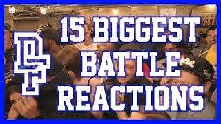 15 BIGGEST BATTLE REACTIONS | Don't Flop Entertainment