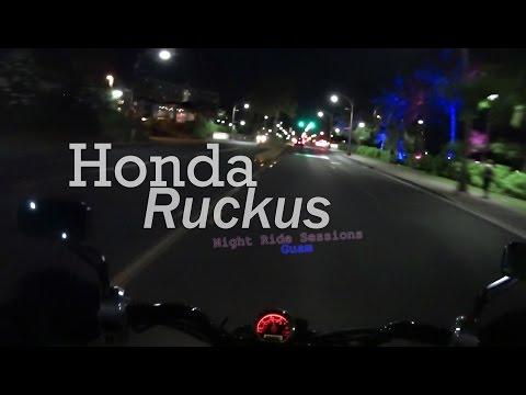 Honda Ruckus - Night Ride Session 1 (Guam)
