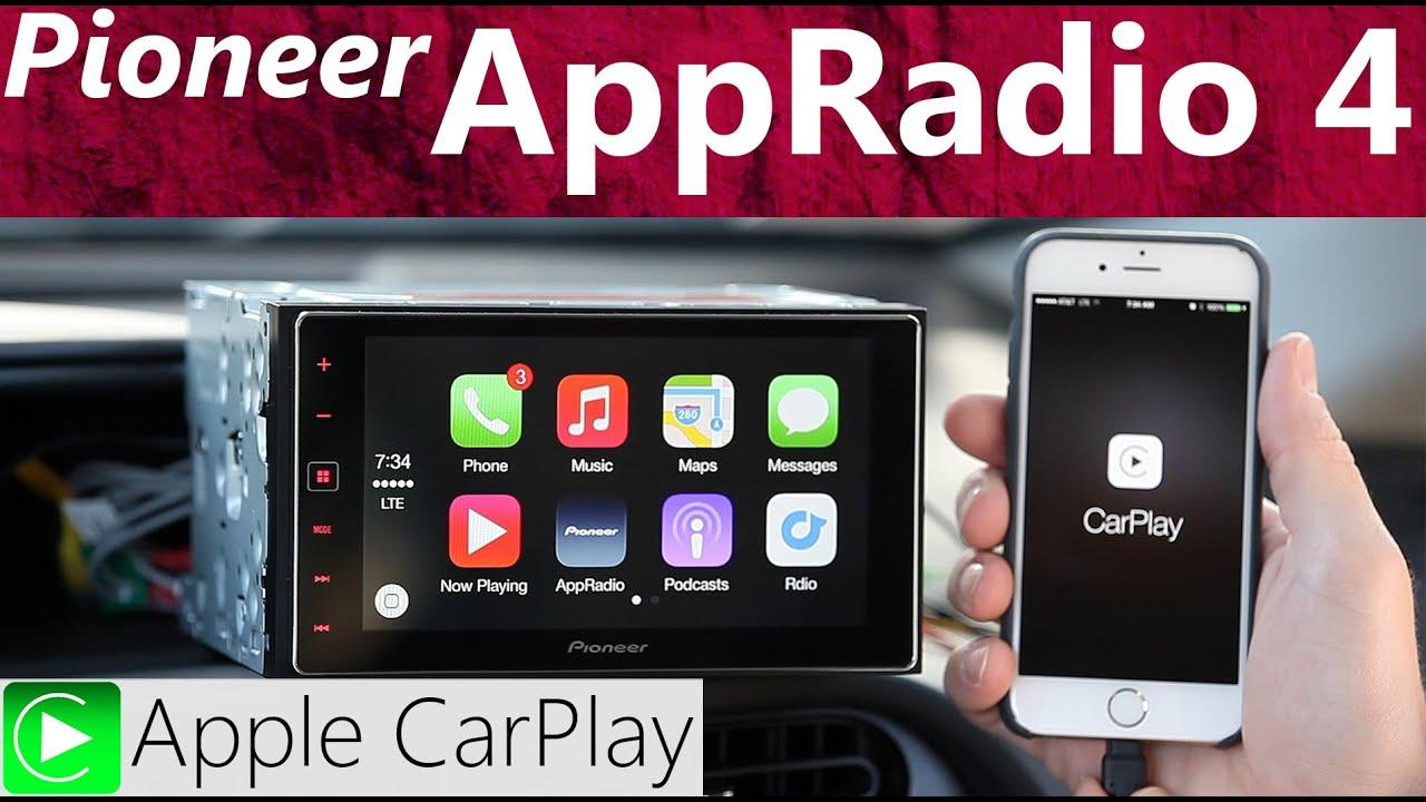 pioneer sph da120 apple carplay appradio 4 review youtube. Black Bedroom Furniture Sets. Home Design Ideas