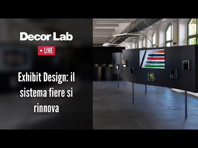 Exhibit Design: il sistema fiere si confronta