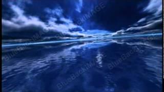 映像素材 動画素材 海 空 雲 海面 ocean sea k