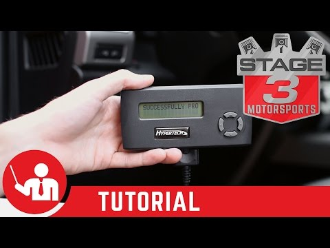 How To Calibrate Speedometer 2015 2016 F150 With Hypertech Speedometer Calibration Tool