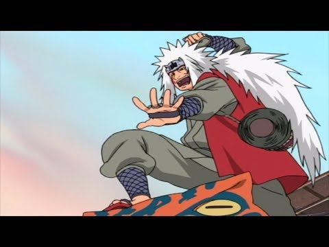 Naruto Meets Jiraiya For The First Time