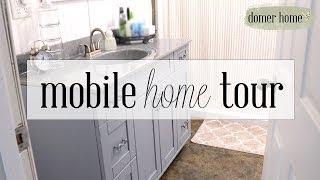 NEW HOME TOUR | MOBILE HOME TOUR