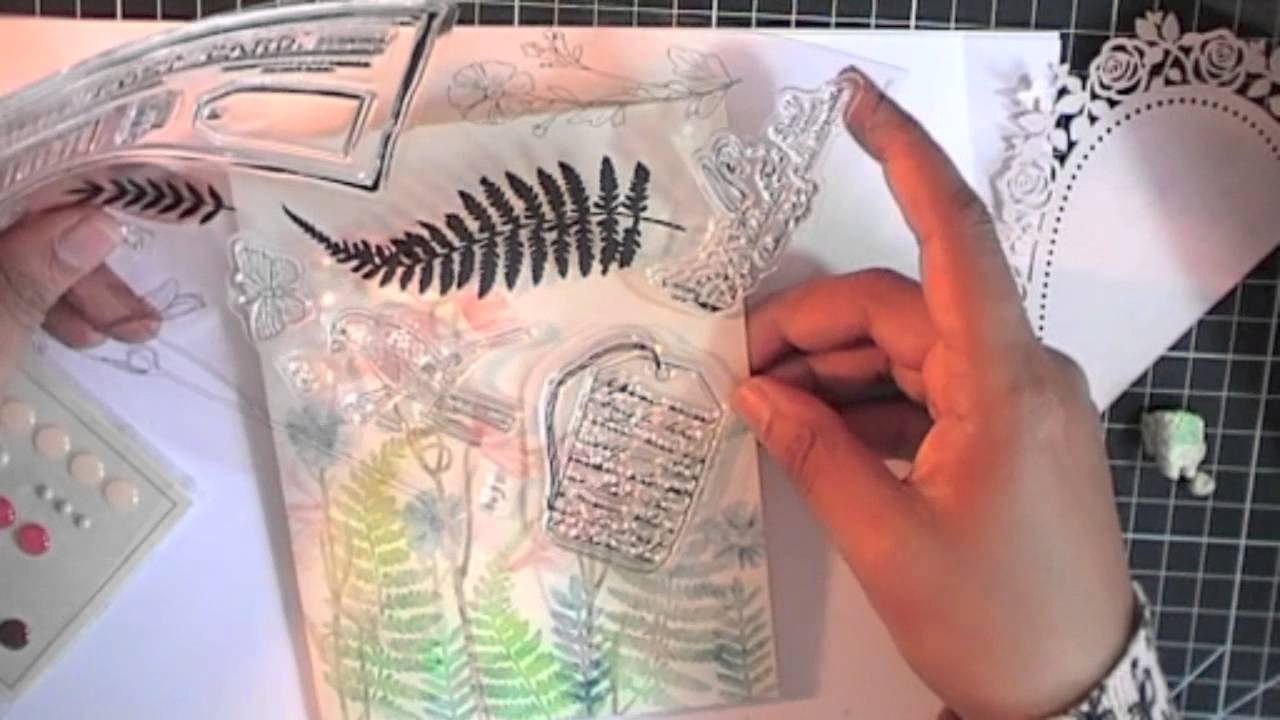 natures gallery by docrafts papermania youtube