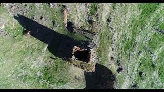 Родовая башня Хестановых, Северная Осетия-Алания (съемки НИУ ВШЭ 09.05.2017)