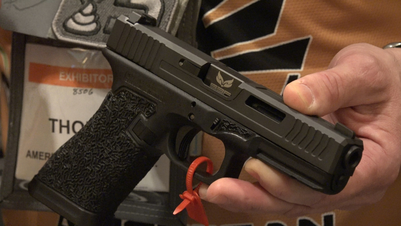 Is that a GLOCK?! - American Defense Manufacturing SHOT Show 2017