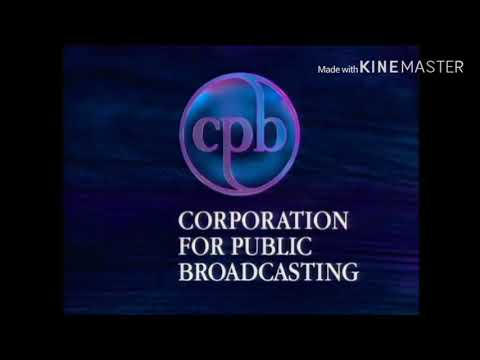 CPB - Corporation For Public Broadcasting - Logo (1991-1992-1993)