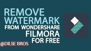 Export/Save video in Filmora without Watermark for free