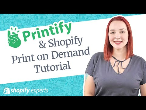 Shopify Print on Demand Tutorial with Printify thumbnail