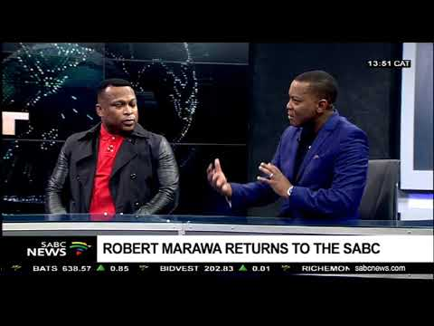 Robert Marawa returns to SABC