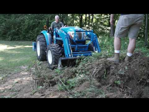 LS 4040 Tractor Land Clearing & Grading
