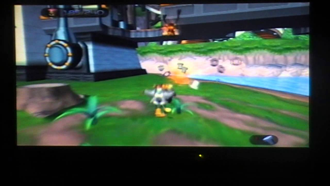 Ratchet And Clank 1 Planet Novalis Gold Bolts And Skill Points