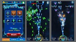 Tutorial Galaxy Attack Alien Shooter Level 52 / no hack (Boss 13 Dytiscidae)