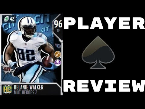 MUT Hereos 2 Delanie Walker | Player Review | Madden 18 Ultimate Team Gameplay