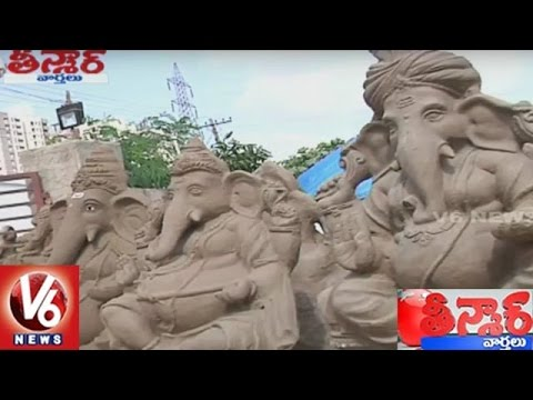 PM Narendra Modi Urge People To Use Eco Friendly Ganesh Idols | Teenmaar News