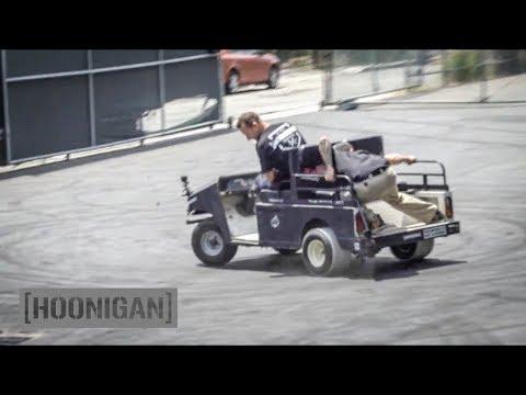 [HOONIGAN] DT 090: Golf Cart PVC Drift #FAIL