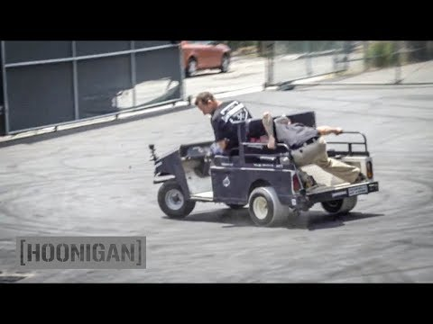 [HOONIGAN] DT 090: Golf Cart PVC Drift #FAIL