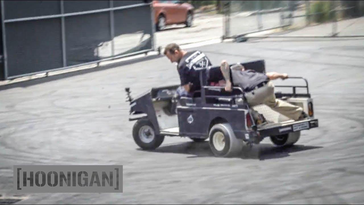 [HOONIGAN] DT 090: Golf Cart PVC Drift #FAIL on