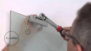 видео Стеклянные межкомнатные двери-купе