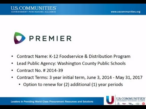 K-12 Foodservice Distribution & Products
