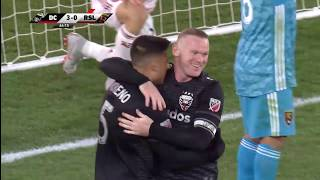 D.C. United's Wayne Rooney nets a Hat Trick against Real Salt Lake