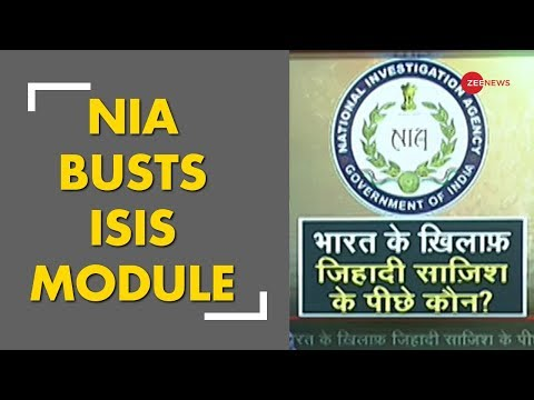 NIA busts ISIS inspired module ; 10 suspects arrested