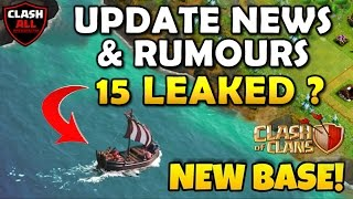The Boat Update News and Rumours | 15 Leaked | Real / Fake News ? Clash of Clans