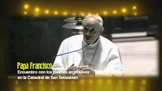 """Papa Francisco da a los Jóvenes """"El Plan de Acción"""" Las Bienaventuranzas y Mateo 25"""
