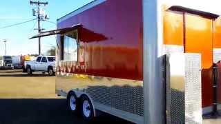 New 2014 Metallic Concession Food Vending Trailer