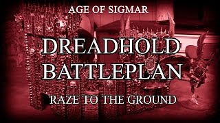 Chaos vs Order - Dreadhold Battleplan: Raze to the ground, Age of Sigmar Battle Report
