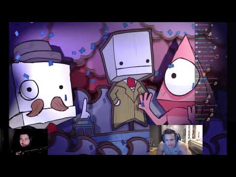 Tyler1 & Greek play BattleBlock Theater [WITH CHAT] [Feb 10, 2018]