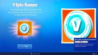 *GRATIS * V-BUCKS en Fortnite Battle Royale (Fortnite Fixes Error)