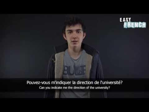 Tiếng Pháp bài 7