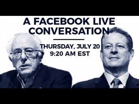 Bernie Sanders & Al Gore Discuss Climate Change and Renewables (July 2017)