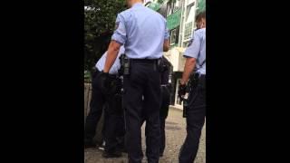 Festnahme in Wuppertal am karlsplatz