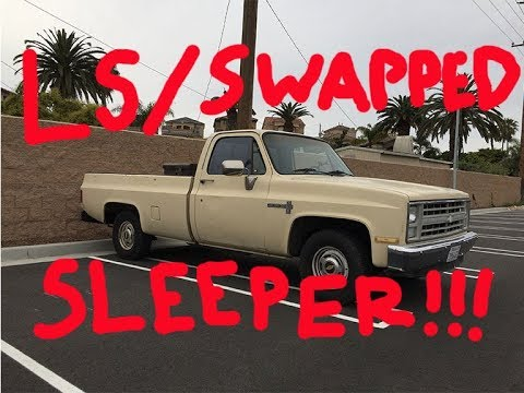 MY NEW LS SWAPPED C10!!   C10KID