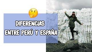 Diferencias entre Perú y España | 🙈 Ms. Wendy Pillaca 🙈