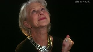 Dame Helen Mirren: 'I would love to play Juliet... too late' - Newsnight