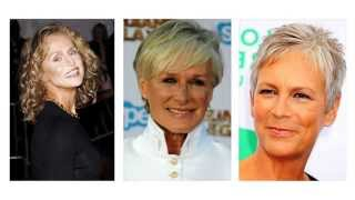 Frizure za žene u 60 godinama