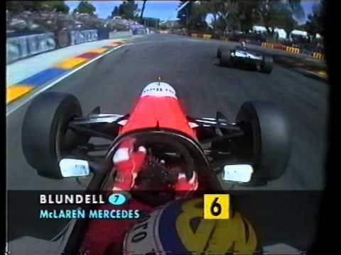 Damon Hill/Mark Blundell Adelaide 1995 onboard lap